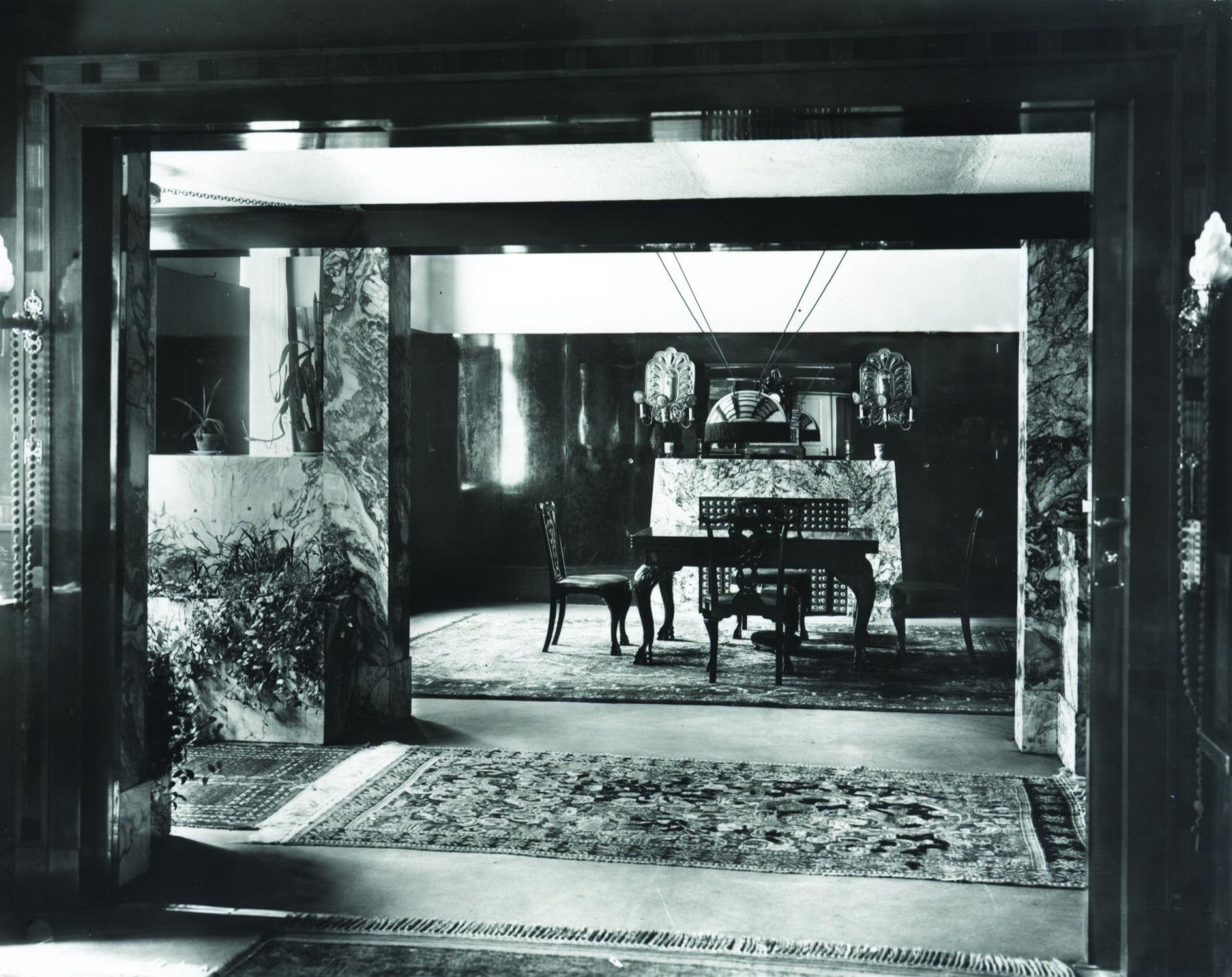 Richard Hirschs Apartment Adolf Loos Ways To Add Lighting A Closet Without Wiring Therapy Wilhelm And Martha First Floor In Plachho Street